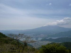 黒岳からの富士山